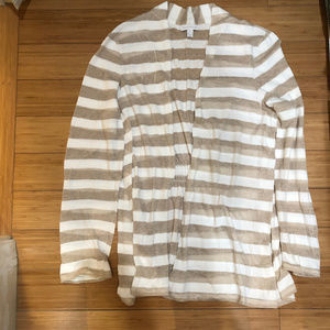 Light weight Jacket Gathered Back Linen Cotton XL